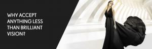 Brilliance lens promo website